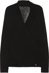 Gucci Fine Knit Cashmere Top Black
