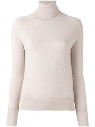 Zanone Turtleneck Jumper Nude Neutrals