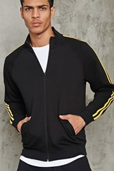 Forever 21 Two Stripe Knit Track Jacket