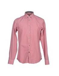 Zegna Sport Long Sleeve Shirts Red