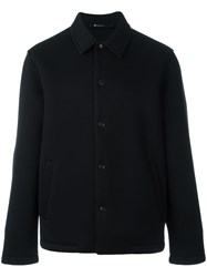Alexander Wang T By Cutaway Collar Jacket Black