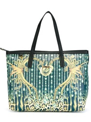 Just Cavalli Printed Tote Bag