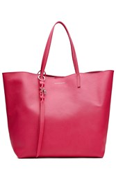 Alexander Mcqueen Leather Tote Pink