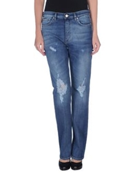 Acne Studios Denim Pants Blue