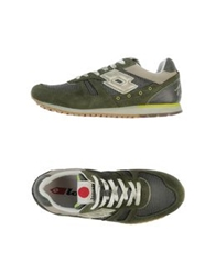 Lotto Leggenda Low Tops And Trainers Military Green