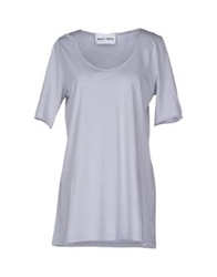 Brand Unique T Shirts Light Grey