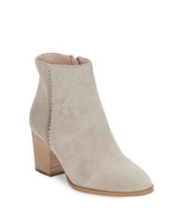 French Connection Banji Suede Ankle Boots Earth