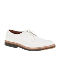 J.Crew Alden White Suede Oxfords Bisque