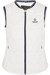 Cavalleria Toscana Quilted Shell Vest White