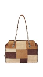 Michael Michael Kors Astor Large Satchel Dark Caramel