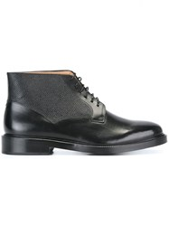 Paul Smith Ps By Lace Up Ankle Boots Black