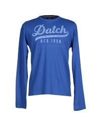 Datch T Shirts Blue
