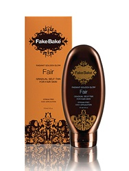 Fake Bake Luxurious Golden Glow Gradual Self Tan For Fair Skin 170Ml
