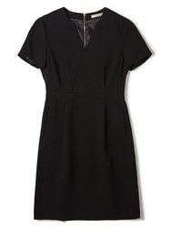 Precis Petite Jeff Banks Black Notch Dress