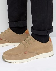 Lyle And Scott Gala Trainers Beige