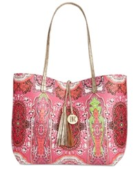 Inc International Concepts Reversible Printed Tote Only At Macy's Pink