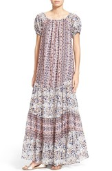 Women's See By Chloe Boho Maxi Dress Light Rose Grey
