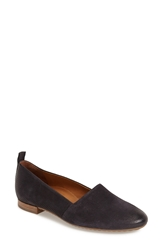Paul Green 'Carmel' Perforated Leather Loafer Women Black