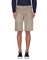 Manuel Ritz Denim Denim Bermudas Men Khaki