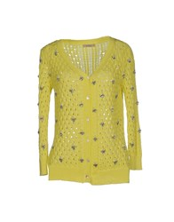 Darling Knitwear Cardigans Women Yellow