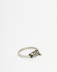 Cheap Monday Barb Ring Silver