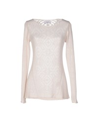 Axara Paris Sweaters Beige