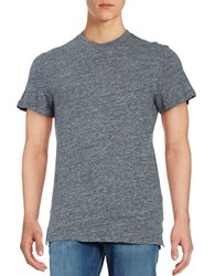 Selected Cotton Jersey Knit Short Sleeve Tee Frost Grey