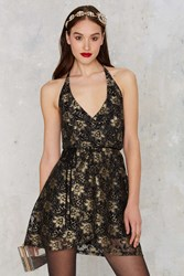 Nasty Gal After Party Vintage Pon De Floral Dress