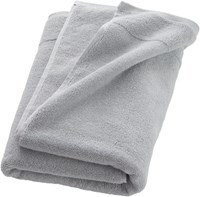 Cb2 Smith Silver Grey Bath Towel