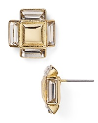 Dylan Gray Baguette Stud Earrings Bloomingdale's Exclusive Gold