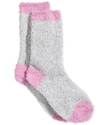 Charter Club Women's Marled Pop Butter Socks Only At Macy's Medium Grey