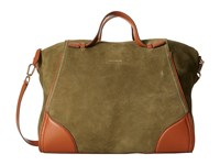 Cole Haan Ellery Satchel Fatigue Satchel Handbags Green