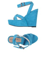 Barbara Bui Footwear Sandals Women Turquoise