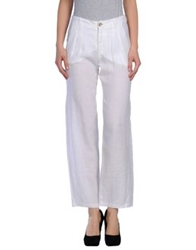Rossopuro Casual Pants White