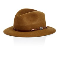 Borsalino Men's Traveler Fedora Tan