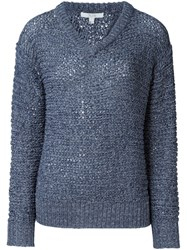 Dagmar 'Betty Knit Slouch' Jumper Blue