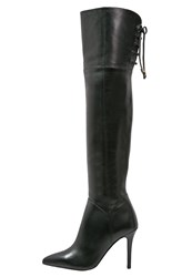 Buffalo High Heeled Boots Preto Black