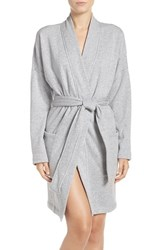 Uggr Women's Ugg 'Braelyn' Fleece Robe Seal Heather