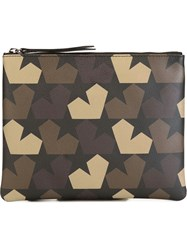 Ports 1961 Star Camouflage Pouch Green