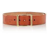 C.S. Simko Women's Leather Belt Tan