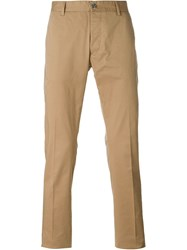 Hydrogen Embroidered Skull Chinos Nude And Neutrals