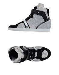Barbara Bui High Tops And Trainers Ivory
