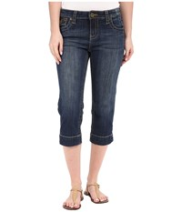 Kut From The Kloth Natalie Crop Jeans In Vagos Wash Vagos Wash Women's Jeans Blue
