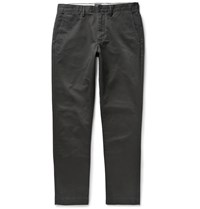 J.Crew Urban Slim Fit Cotton Twill Chinos Black