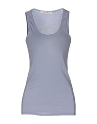 Jucca Sleeveless T Shirts Lilac