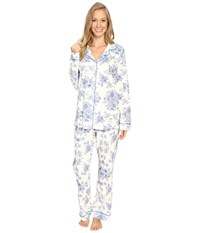 Bedhead Long Sleeve Classic Pajama Set Mystery Garden Women's Pajama Sets
