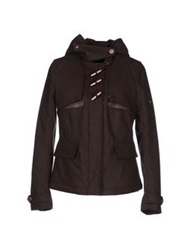 Piquadro Jackets Dark Brown