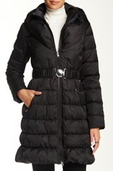 Laundry By Shelli Segal Pillow Collar Down Jacket Black