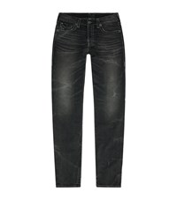 True Religion Rocco Super T Relaxed Skinny Jeans Male Black