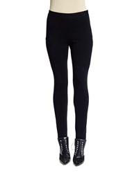 Givenchy Star Motif Punto Milano Leggings Black Women's